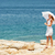 ビーチ · シーン · 人 · 徒歩 · 砂 - ストックフォト © milanmarkovic78