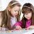 cute little girls stock photo © milanmarkovic78