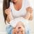 matka · baby · gry · domu · rok · starych - zdjęcia stock © milanmarkovic78