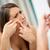 mulher · olhando · espelho - foto stock © milanmarkovic78