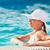бассейна · молодые · красивая · женщина · солнце · женщину - Сток-фото © MilanMarkovic78