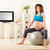 donna · incinta · seduta · fitness · palla · rilassante · donna - foto d'archivio © MilanMarkovic78