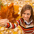 automne · fille · cute · jeune · femme - photo stock © MilanMarkovic78
