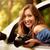 車 · 美しい · 若い女性 · カメラマン · 座って - ストックフォト © MilanMarkovic78