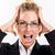 zakenvrouw · stress · portret · aantrekkelijk · business · vrouwen - stockfoto © MilanMarkovic78