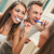 couple brushing teeth stock photo © milanmarkovic78