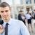 młodych · działalności · liderem · portret · biznesmen · stałego - zdjęcia stock © MilanMarkovic78