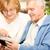 senior couple using tablet stock photo © milanmarkovic78