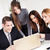 zespół · firmy · szczęśliwy · młodych · business · woman · koledzy - zdjęcia stock © MilanMarkovic78