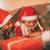待って · サンタクロース · 美しい · 笑みを浮かべて · 家族 · サンタクロース - ストックフォト © milanmarkovic78