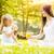matka · córka · charakter · piękna · mały · piknik - zdjęcia stock © MilanMarkovic78
