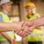 ingegnere · stringe · la · mano · mani · riunione · costruzione · contatto - foto d'archivio © milanmarkovic78