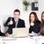 zespół · firmy · cztery · szczęśliwy · ludzi · biznesu - zdjęcia stock © MilanMarkovic78