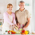 senior couple in the kitchen stock photo © milanmarkovic78