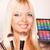 bela · mulher · cor · 60 · paleta · belo - foto stock © milanmarkovic78