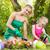 gyerekek · locsol · virágok · természet · háttér · jókedv - stock fotó © milanmarkovic78