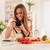 aantrekkelijk · blogger · meisje · mooie · jonge · vrouw - stockfoto © MilanMarkovic78