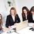 zespół · firmy · cztery · szczęśliwy · ludzi · biznesu · mówić · biuro - zdjęcia stock © MilanMarkovic78