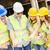 equipe · quatro · construção · plano · mulher - foto stock © MilanMarkovic78
