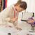 Fashion Designer With Sewing Pattern stock photo © MilanMarkovic78