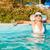 бассейна · привлекательный · солнце · женщину - Сток-фото © MilanMarkovic78