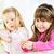 two cute little girl stock photo © milanmarkovic78