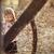 verlegen · meisje · portret · outdoor · park - stockfoto © milanmarkovic78