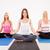 grupo · de · personas · sesión · meditando · yoga · estudio - foto stock © milanmarkovic78