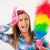 pulizie · di · primavera · donna · urlando · divertente · pulizia · signora - foto d'archivio © milanmarkovic78