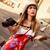 genç · fotoğrafçı · kız · dijital · fotoğraf · makinesi · portre · serin - stok fotoğraf © milanmarkovic78