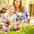 mother and daughter in garden stock photo © milanmarkovic78