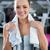 Cute · женщину · спортсмена · бутылку - Сток-фото © milanmarkovic78