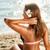 genç · kadın · deniz · görmek · ayakta · geri - stok fotoğraf © milanmarkovic78