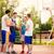 jonge · atleet · bal · permanente · basketbalveld · camera - stockfoto © milanmarkovic78