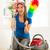 домохозяйка · пылесос · комнату · рабочих · службе · очистки - Сток-фото © milanmarkovic78