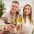 ロマンチックな · 祝う · クリスマス · 立って · 近い - ストックフォト © milanmarkovic78