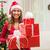 vrouw · veel · christmas · presenteert · witte - stockfoto © milanmarkovic78