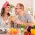 happy couple in the kitchen stock photo © milanmarkovic78
