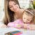 cute little girl with mother stock photo © milanmarkovic78