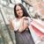 fiatal · nő · bevásárlótáskák · mutat · remek · emberek · vásár - stock fotó © milanmarkovic78