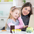 mother and daughter having fun in the kitchen stock photo © milanmarkovic78