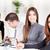 zespół · firmy · szczęśliwy · młodych · kobieta · interesu · biuro · patrząc - zdjęcia stock © MilanMarkovic78