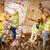 reconstrução · catástrofe · quatro · construção · plano · edifício - foto stock © MilanMarkovic78