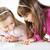 kettő · aranyos · kislány · kislányok · játszik · otthon - stock fotó © MilanMarkovic78