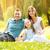 portret · uśmiechnięty · szczęśliwą · rodzinę · szczęśliwy · rodziny · posiedzenia - zdjęcia stock © MilanMarkovic78