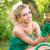 fiatal · nő · tart · virágcserép · portré · fiatal · gyönyörű · nő - stock fotó © MilanMarkovic78
