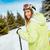 beautiful woman on winter vacation stock photo © milanmarkovic78