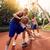 kosárlabda · játékosok · férfi · női · stúdiófelvétel · fehér - stock fotó © milanmarkovic78
