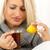 citron · thé · fille · visage · sur - photo stock © MilanMarkovic78