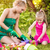 mother and daughter planting flowers stock photo © milanmarkovic78